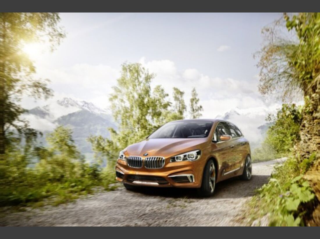 BMW Concept Active Tourer Outdoor - Bilder 24