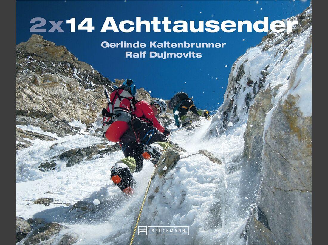 KL 2x14 Achttausender Gerlinde Kaltenbrunner Ralf Dujmovits Titel Cover