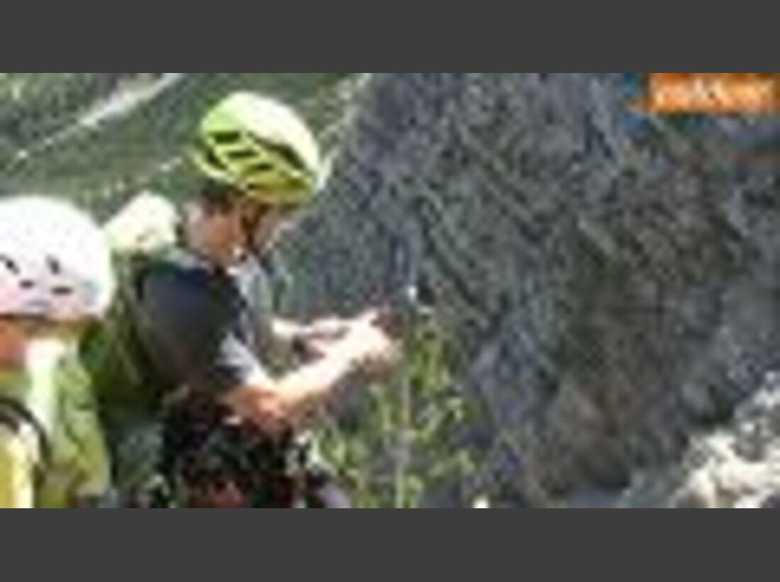 Klettersteiggehen: Sicherung & Technik sichern ferrata
