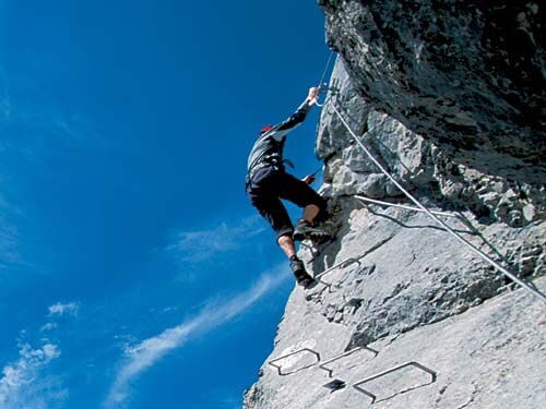 Klettersteigtechnik: Safety Days