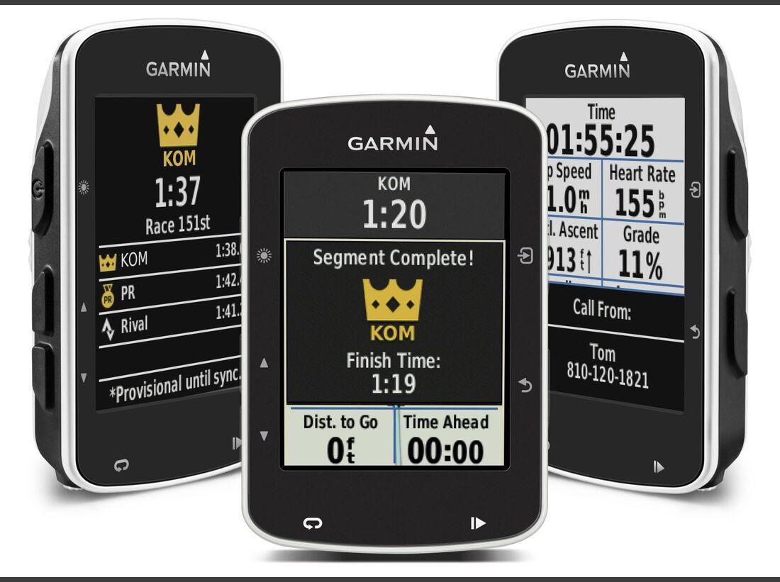 MB Garmin Edge 520 Strava Segmente GPS