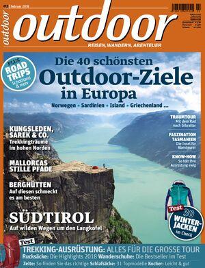 OD 0218 Titel Februar Heftcover outdoor