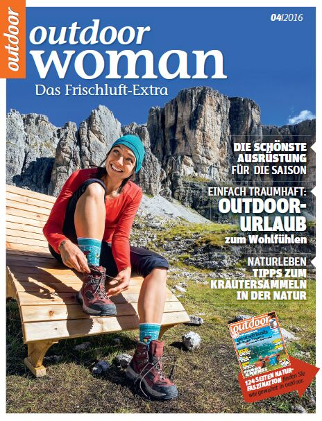 OD 0416 Titel Heft Cover outdoor Woman