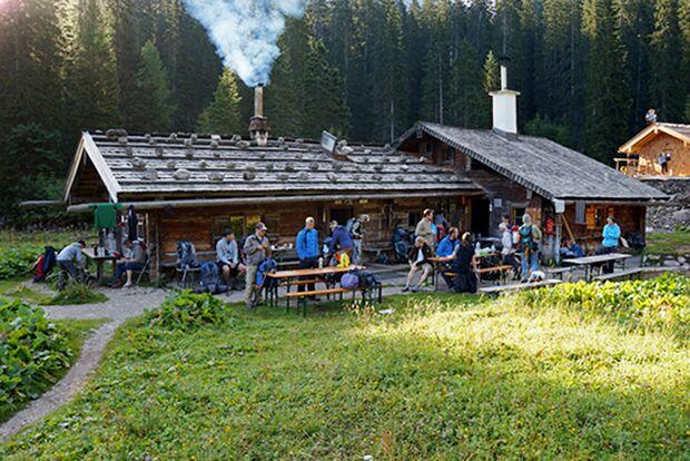 OD 0716 Wilde Hütten Wasseralm