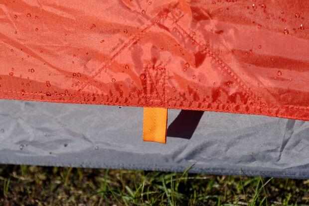 OD 0816 Zelt Test Minuspunkt Sparsamkeit