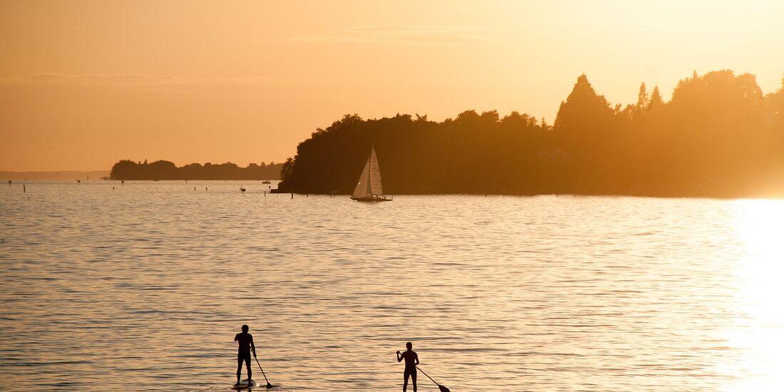 OD 2017 Bodensee See Gewässer Wassersport SUP Paddeln