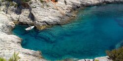 OD 2018 Dalmatien Kroatien Adria Meer Bucht Segeln Boot Lagune Sommer Südeuropa Urlaub Reise