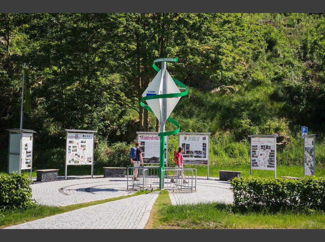 OD 2018 Mythos Bayern Sonderheft Frankenwald Wanderdrehkreuz