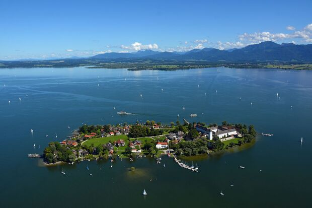 OD 2018 Mythos Bayern Sonderheft S.102 Chiemsee Alpenland Fraueninsel