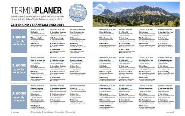 OD 2019 Mountain Days Brixen Südtirol Programm aus pdf