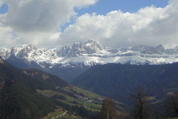 OD Dolomiten Rosengartengruppe Berge Bergtouren Klettersteig Skitour