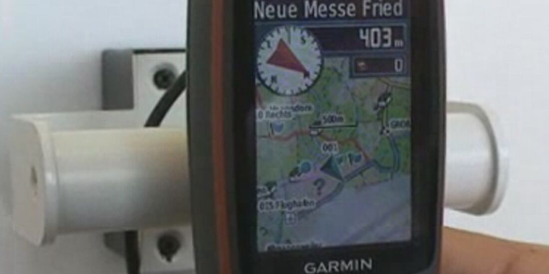 OD Garmin GPS Video Teaserbild Messe