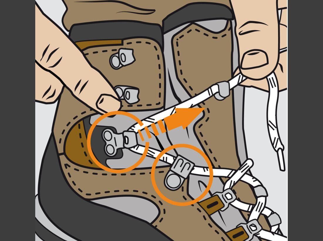 OD Schuhe binden Instructor