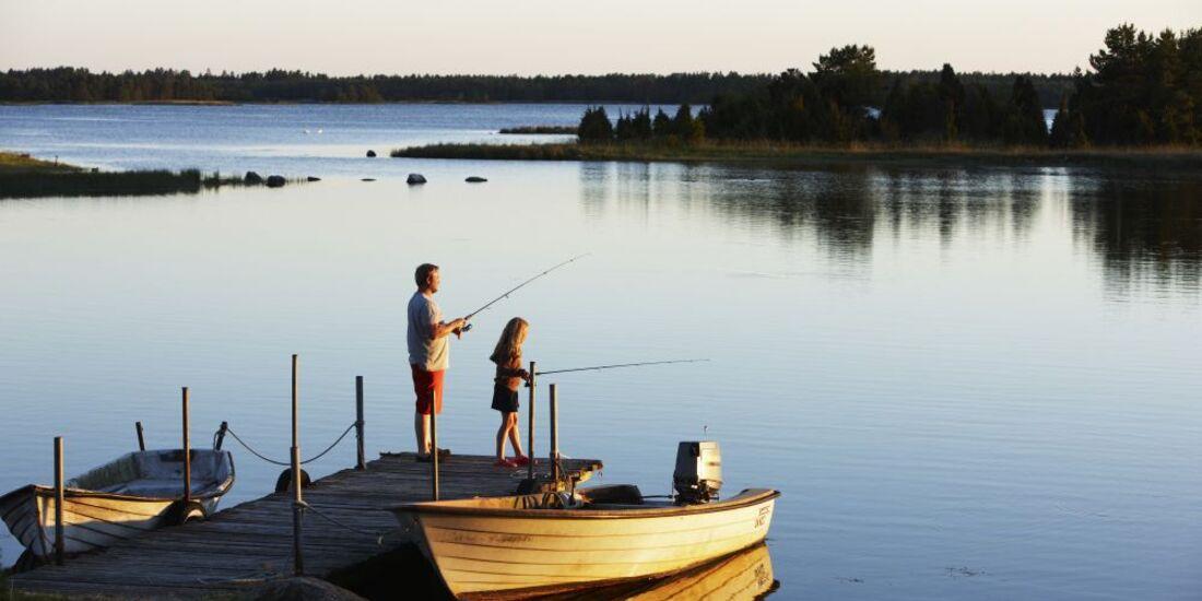 OD Schweden Angeln Sommer