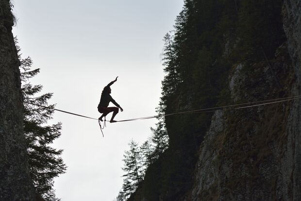 OD Slackline Highline Klettern Colourbox 2018