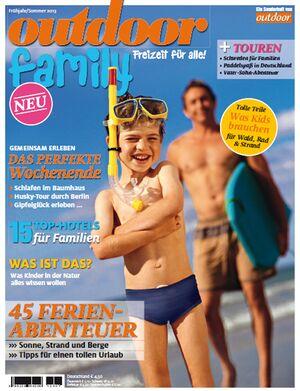 OD Sonderheft 2013 Titel Magazin Cover Family Familie Kinder