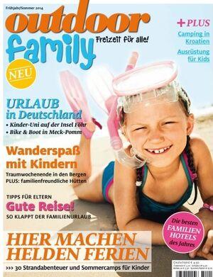 OD Sonderheft 2014 Titel Magazin Cover Family Familie Kinder Frühling Sommer 3:2