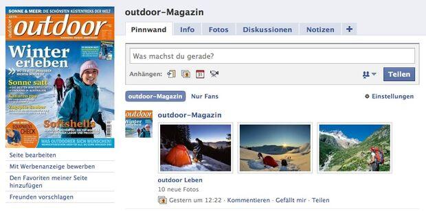OD outdoor-magazin.com bei Facebook