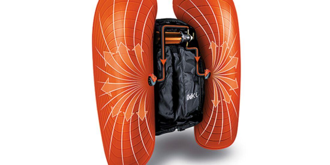 PS 0114 Skitouren Special Rucksäcke Lawinenairbag - ABS Vario Techvisual