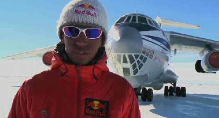 RED BULL Antarctica Project 2010