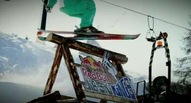 Red Bull Jib Ski Kings 2012: Jibbing auf der Seiser Alm