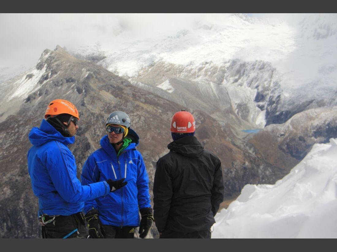 Slackline-Höhenweltrekord in Peru 18