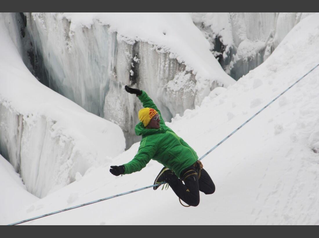 Slackline-Höhenweltrekord in Peru 6