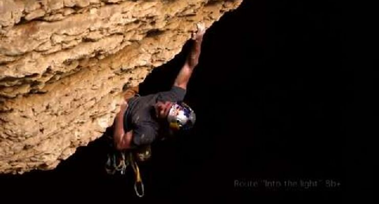 "Teil 4: Stefan Glowacz + Chris Sharma klettern in Oman ""Into the Light"""