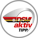 Testsieger-Logo: planetSNOW DSV aktiv TIPP 2017