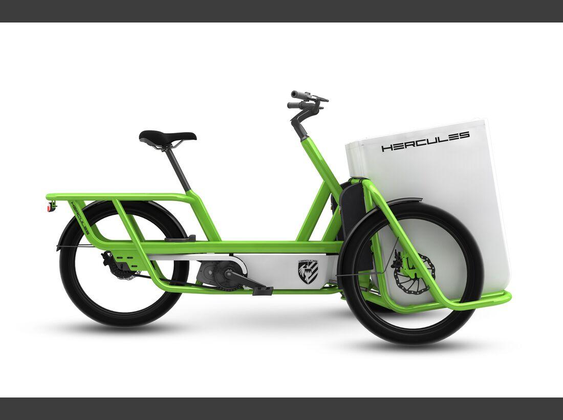 UB Hercules Lastenrad E-Bike-Neuheiten 2016