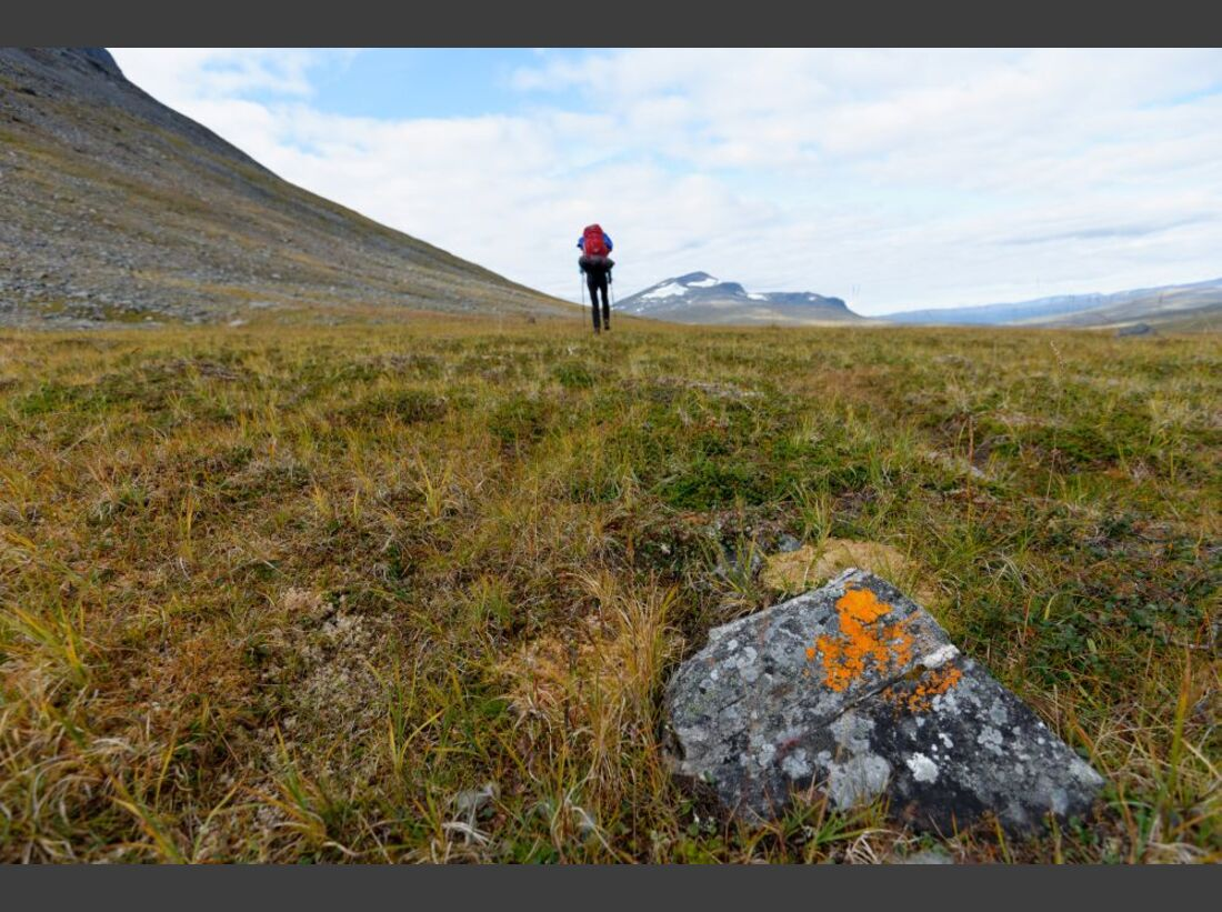 Wildnis-Trekking im Sarek 40