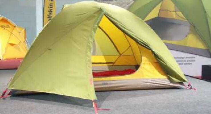 Zelt-Neuheit 2015: Jack Wolfskin Skyrocket III Dome